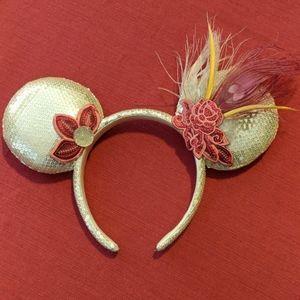 Minnie Mouse Sequined Headband